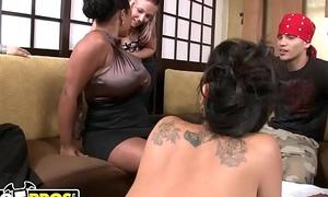 BANGBROS - Unclad Sushi Nigh Asian Pornstar Asa Akira with an obstacle partner in crime of Tasha Lynn