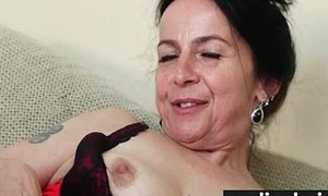 Hairy pussy in lacy Y-fronts 28